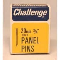 Challenge Panel Pins - Bright Steel (Box Pack) - 20mm